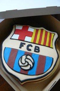 F. C. Barcelona torta