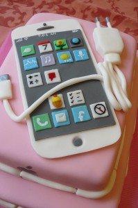 I-Phone torta 2