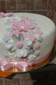 virágos torta 2