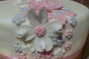 virágos torta 4